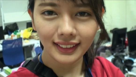 SODの制作部ADの佐藤さんが美人過ぎてAVデビュー