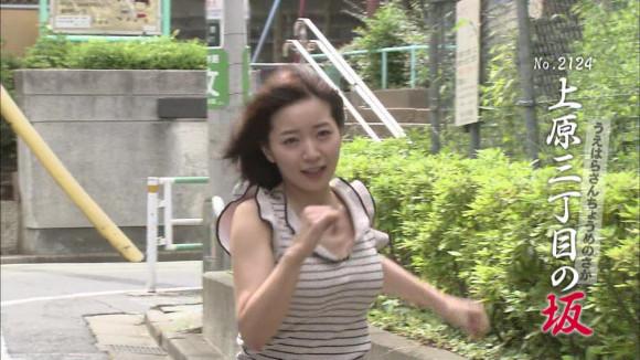 全力坂で階戸瑠李(28)のボヨヨンダッシュ