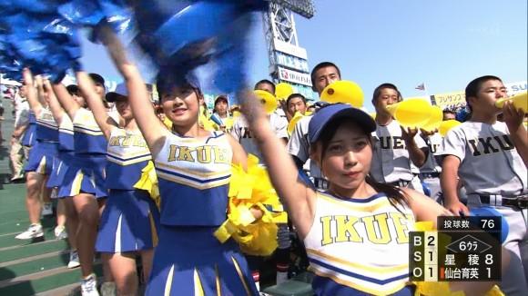 高校野球本大会で映った生JKのキャプ画像 part2